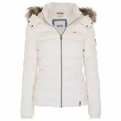 Full Sleeve Casual Jackets Ladies Fancy Plain Jacket