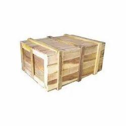 Brown Rectangle Rectangular Storage Wooden Box