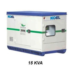 Three Phase 15 KVA Kirloskar Koel Silent Diesel Generator Set