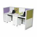 Particle Board Modern Office Workstation