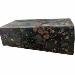 Nebula Black Granite Slab