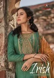 Deepsy Suits Irish Woven Pashmina With Embroidery Work Dress Material Catalog