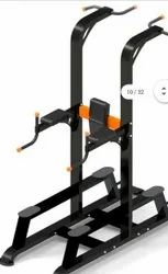 Vertical Dip Stand With Pull Ups Bar