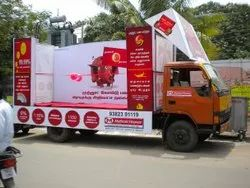 Flex Outdoor Mobile Vans Advertising Service, For Branding And Sales Promotion, in Chennai