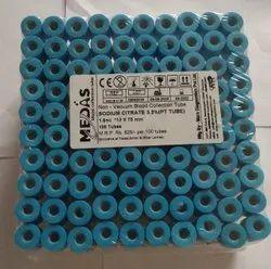 NON VACUUM SODIUM CITRATE 3.2% (PT TUBE)