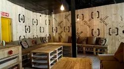 Commercial Interior Designing, Work Provided: Wood Work & Furniture