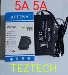 Retena 5V 5A Adapter Power Supply
