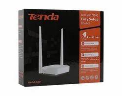 White Wireless or Wi-Fi Tenda Router, N 301