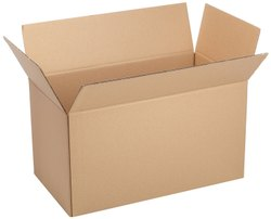Brown Rectangular Wardrobe Corrugated Box, Weight Holding Capacity (Kg): 5 - 10 Kg, Size(LXWXH)(Inches): 430x410x410 mm