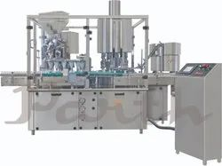 Dry Syrup Filling And Capping Machine