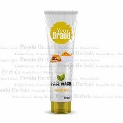 Turmeric Face Wash, Tube, Cream
