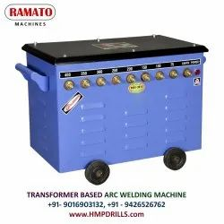 RAMATO 600A Stud Type Air Cooled Transformer Based ARC Welding Machine