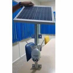 2 MP Solar PTZ WiFi Camera, Sensor: CCD, Camera Range: 15 To 20 m