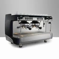 DOUBLE GROUP COFFEE MACHINE WITH GRINDER E98UP(FAEMA)