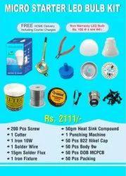 Micro LED Bulb Starter Kit, For Industrial, Packaging Type: Box