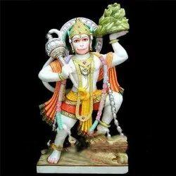 Lord Veer Hanuman ji Marble Statue