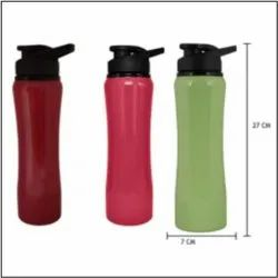 750 ML Curved Metal Sipper Bottle Flask