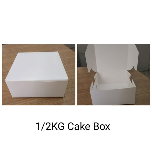 1/2 Kg Cake box