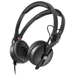 Wired Black Sennheiser HD 25 PLUS Monitor Headphones, ~ 140 Gm