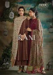 Kimora Kani Pashmina With Embroidery Work Dress Material Catalog