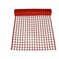 Red Plastic Safety Fence