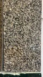 Polished Crystal Brown Granite Slab, For Flooring, Thickness: 15 mm