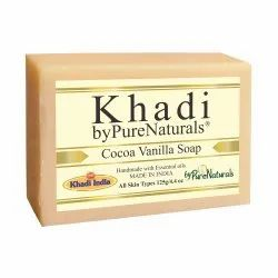 Bypurenaturals Khadi  Cocoa Vanilla Soap- 125gm