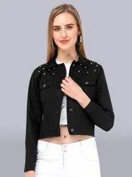 Cotton Twill Regular Wear Women Jacket