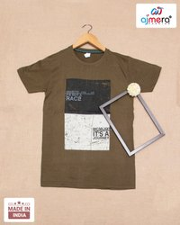 Cotton Multicolor T Shirts, Size: M,L