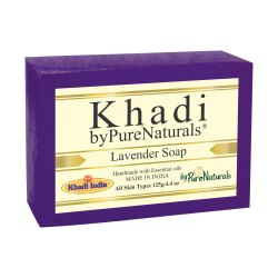 byPureNaturals Khadi Lavender Soap-125gm