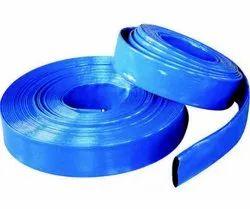Blue Flat Hose Pipe