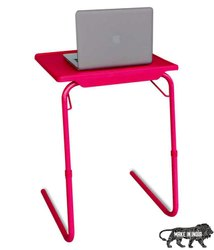 Multipurpose Portable Laptop Table(Standard, Pink)
