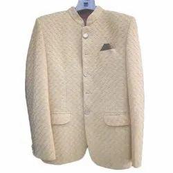 Golden Plain Mens Party Wear Prince Coats, Size: 32 - 44