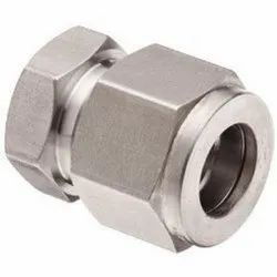 Double Ferrule Compression Tube Fittings, For Water, Gas & Oil