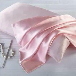 粉红色100%纯22毫米桑椹丝枕盖,为家