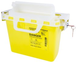 7.6 L Puncture Proof Sharp Container