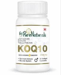 Bypurenaturals Koq 10 Immune Booster 15 Softgel Capsules