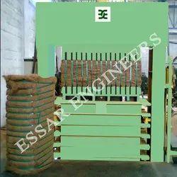 Coir Fibre Bale Press