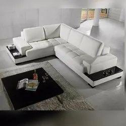 Premier India Modern L Shape Living Room Sofa Set, Tight Back