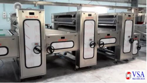 Automated Biscuit Making Machinery