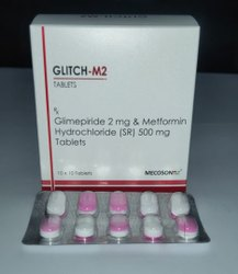 Glimepiride 2mg Metformin 500 Mg Tablets