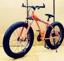 Audi Dolphin Orange Fat Tyre Cycle
