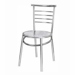 Polished Steel Chair