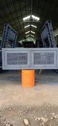 Modern Powder Coated Steel Case Window, For Office, Size/Dimension: 2 Feet