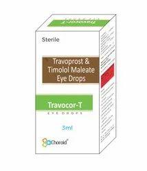 Travoprost 0.004% With Timolol Maleate 0.5% Eye Drops (travacom-t)