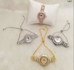 AD Chain Watch For Ladies