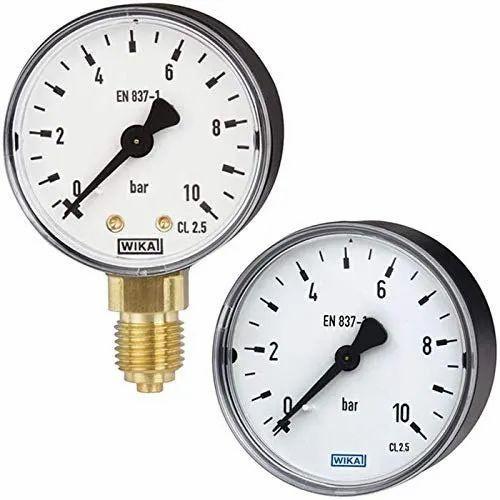 Wika Freon Pressure Gauges - 30 To 150 PSI