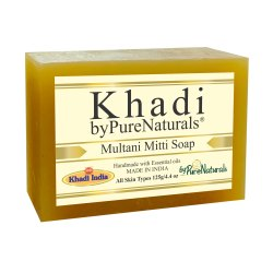 byPureNaturals Khadi Multani Mitti Soap- 125gm
