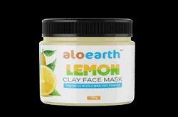 Aloearth LEMON CLAY FACE MASK, Gel, Packaging Size: 100 Gm