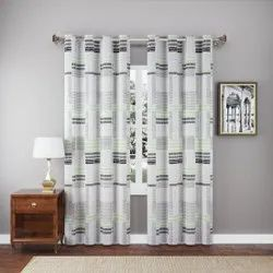 Printed Cotton Curtain, For Door, Size: 7 Feet